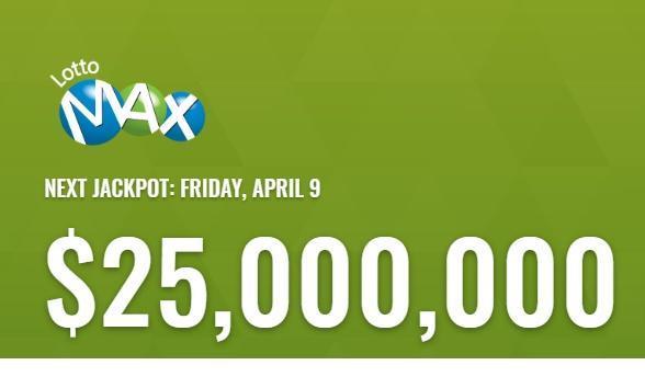 Lotto Max April 9 2021 Winning Numbers