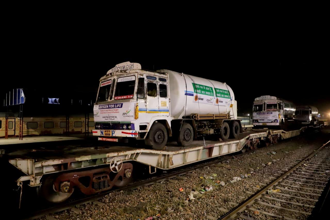 Oxygen Express has been run from Bokaro
