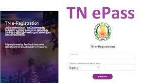 TN E Pass Registration 2021