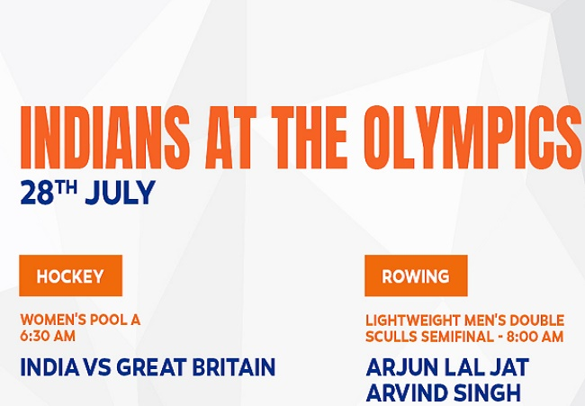 Indians At The Olympics 28th July 2021