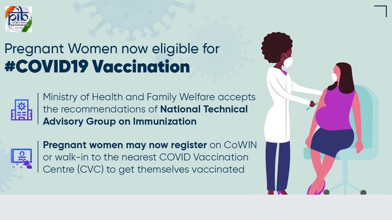 Pregnant Women Now Eligible For Covid-19 Vaccination