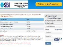 SBI Apprentice Recruitment 2021 Apply online