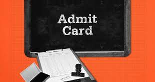 WBJEE ANM & GNM Admit Card 2021
