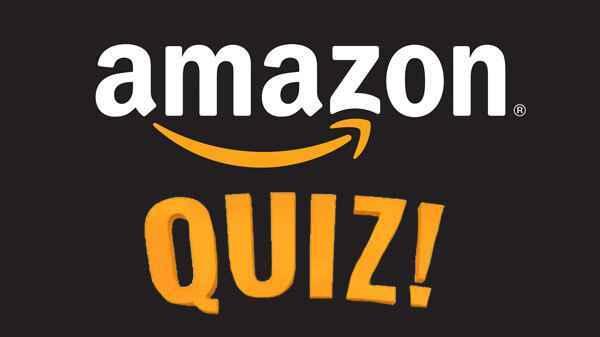 Amazon Quiz 21 September 2021