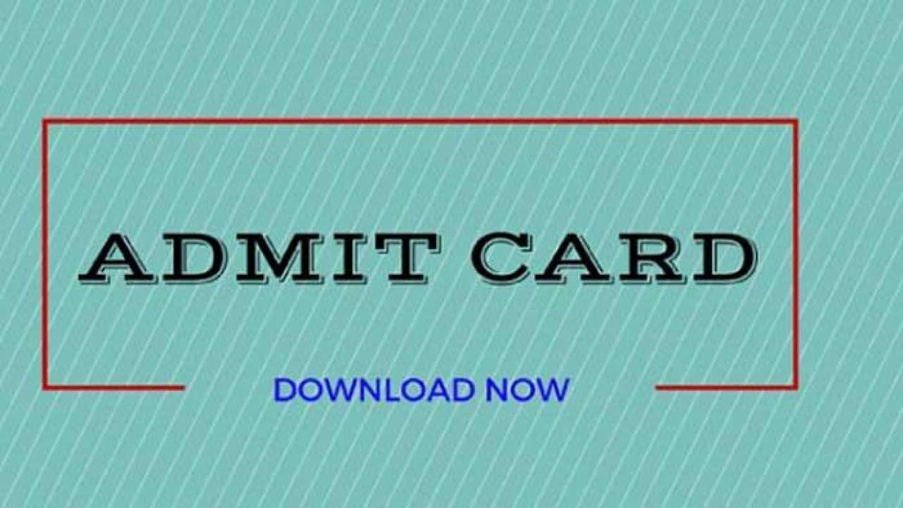 HP Forest Guard PET Admit Card 2021