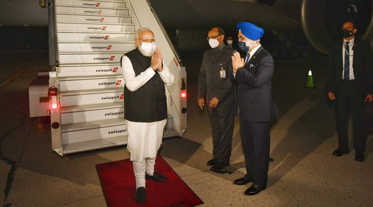 Prime Minister Narendra Modi reaches New York To Address 76th UNGA Session