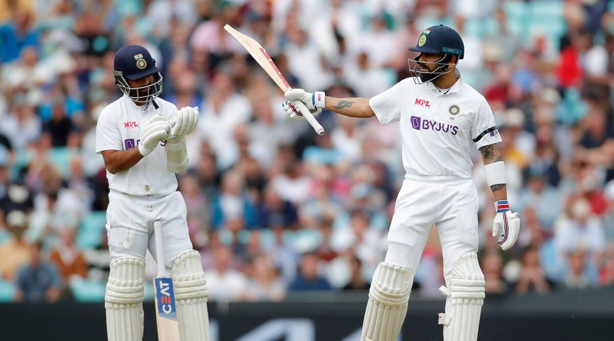 Virat Kohli Departs For 44