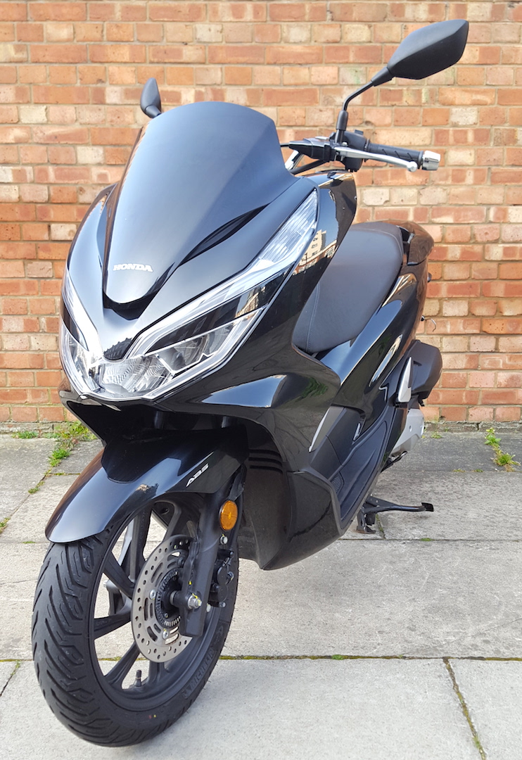 70 reg Honda PCX with 14 miles, as new condition