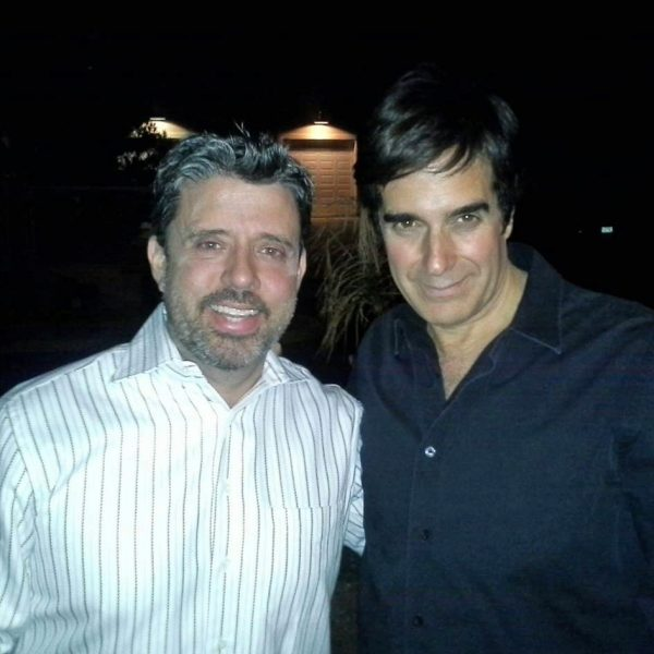 Reynold Alexander with David Copperfield