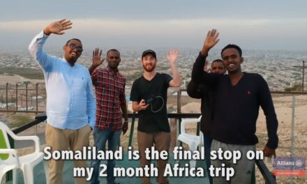 We hosted Travel blogger Drew Binsky in Somaliland