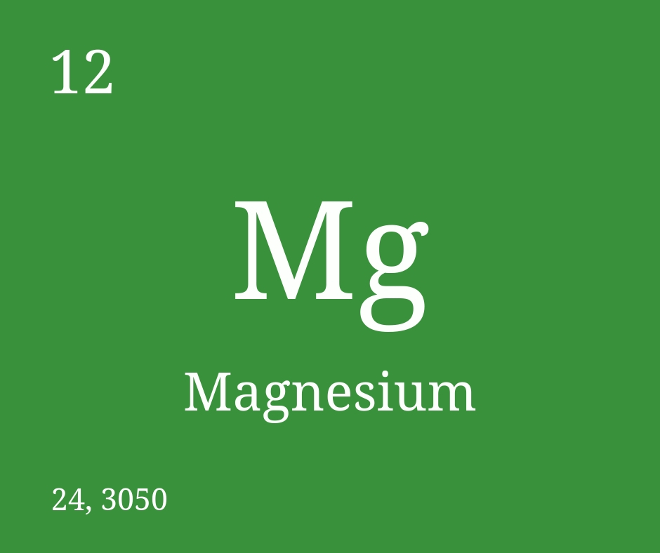 More on Magnesium!