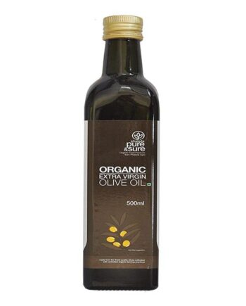buy-pure-and-sure-organic-extra-virgin-olive-oil-500l-online-india