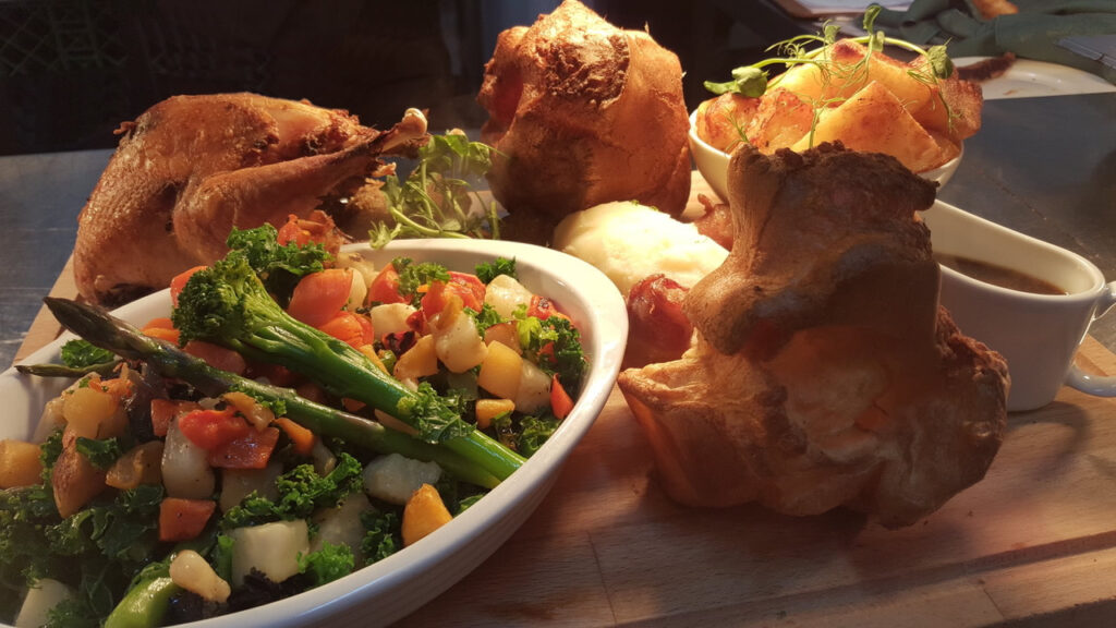 Sunday roast at The Royal at Hayfield