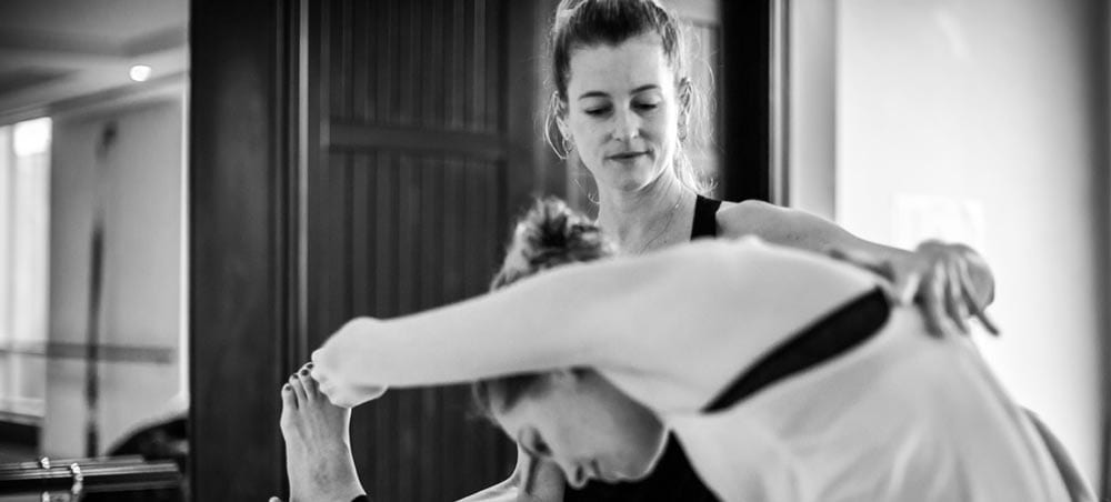 Nilaya House Ashtanga Yoga adjustments