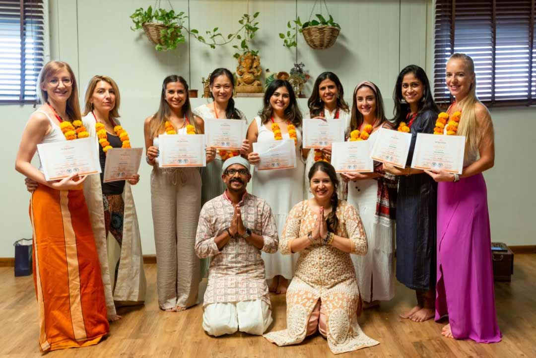 Nilaya House - 200-hour Yoga Teachers' Training Course - graduates