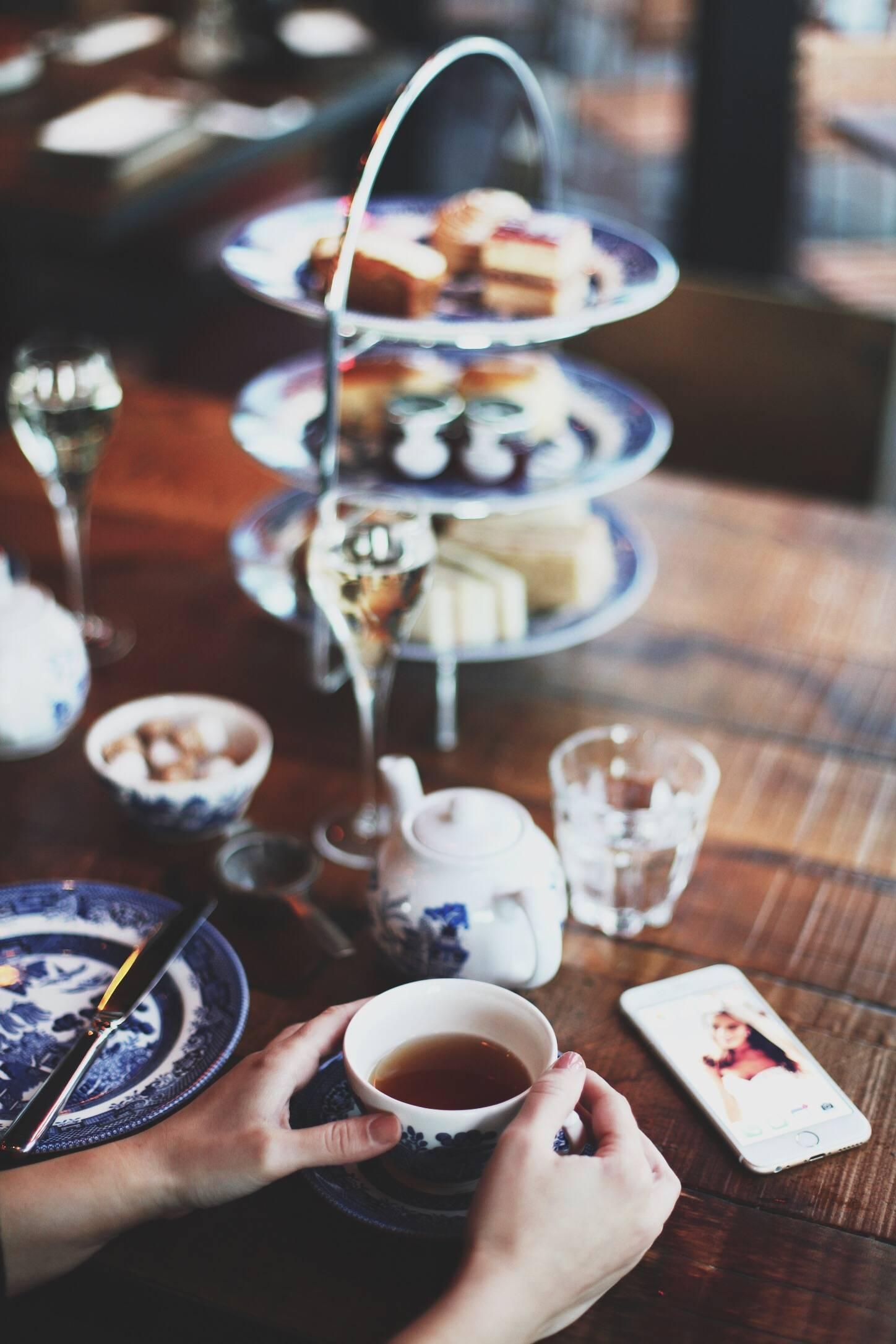 afternoon tea at big easy