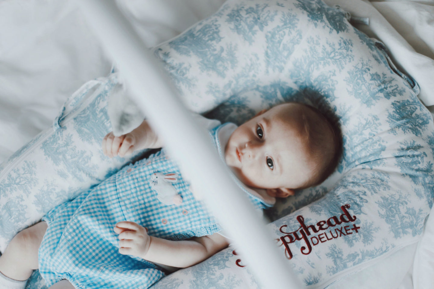 My honest thoughts on co-sleeping with a Sleepyhead - Launeden