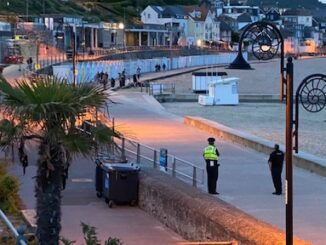 police seafront