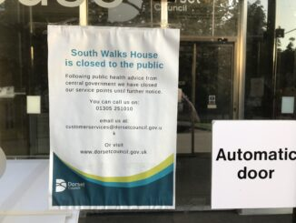 Dorset Council staff will not be returning to South Walks House until June