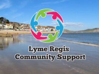 Lyme Regis Community Support logo