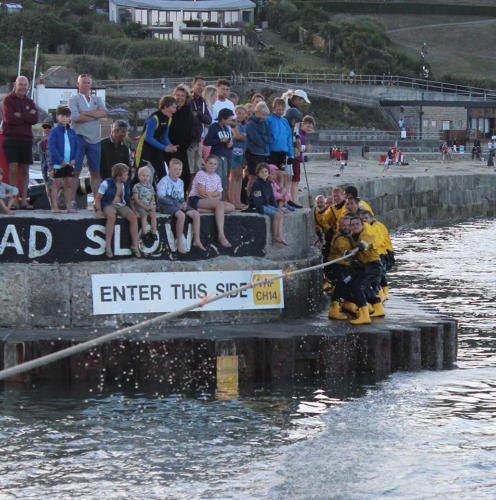 The tug o' war across the harbour mouth