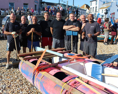 Lyme Regis fire crew ready for the bathtub race