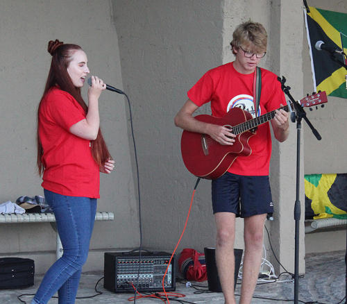 Youngsters from B Sharp entertain
