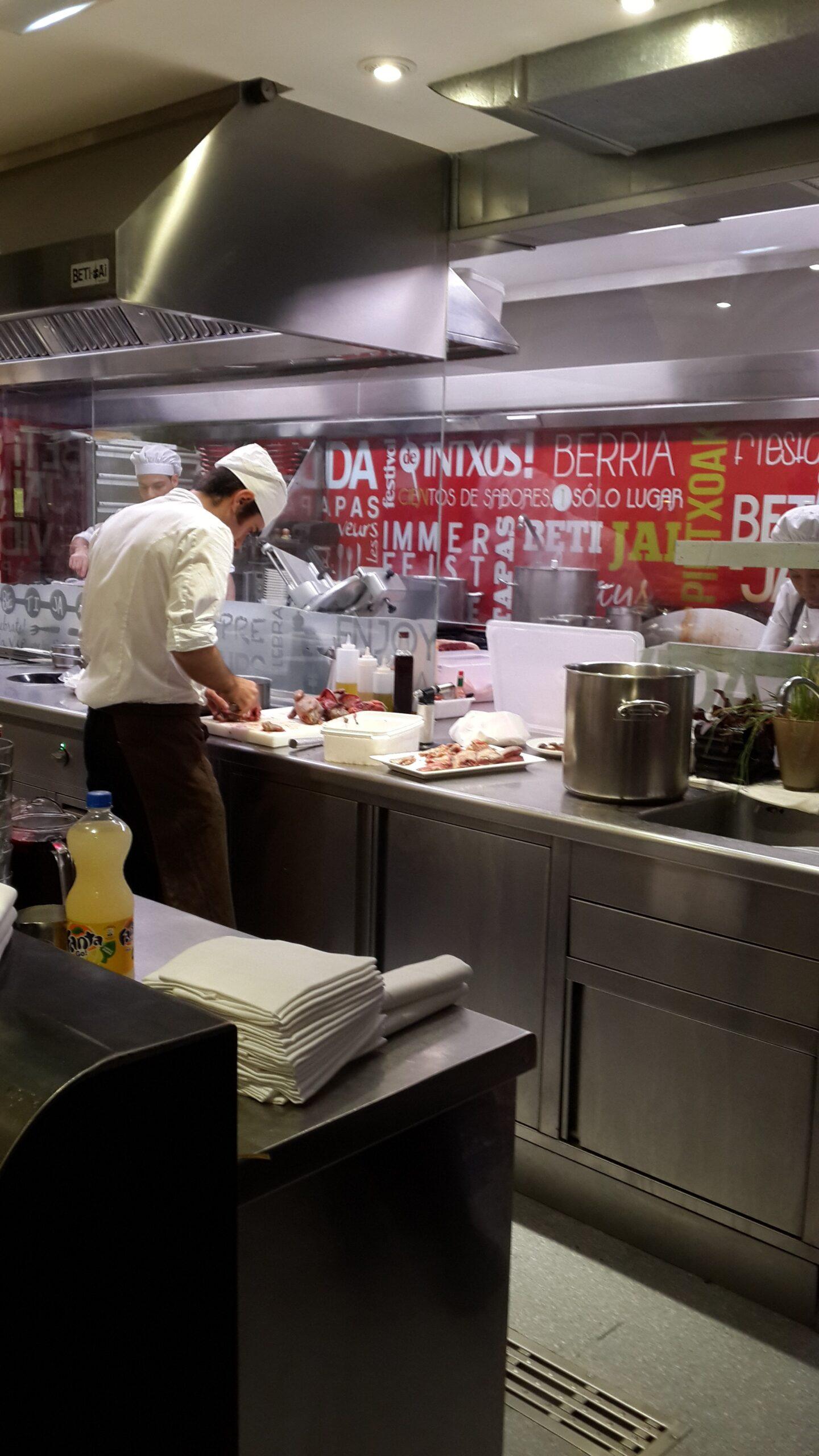 Şef restoranı san sebastian michelin yıldızı