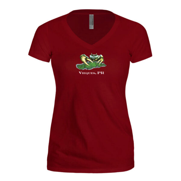 Women's Limited Edition Opening V-neck T-shirt – Scarlet