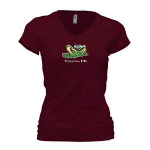 Women's Limited Edition Opening V-neck T-shirt – Maroon