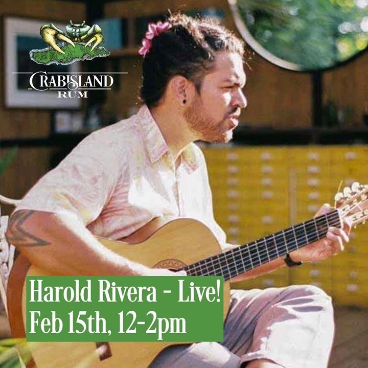 harold rivera plays live
