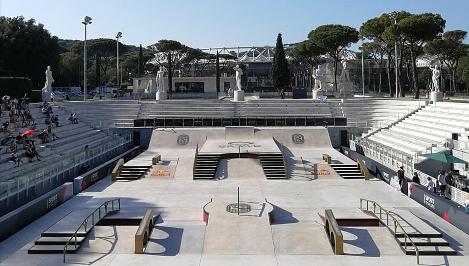 Free Gym and skating for all ages at foro Italico 1