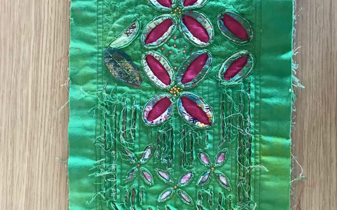 Art Textiles/Creative Embroidery (Age 16+) – suitable for beginners/intermediate