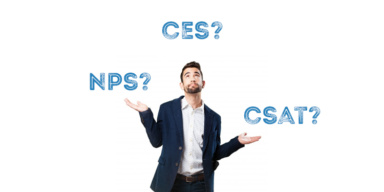 NPS, CES & CSAT:  What's The Difference?