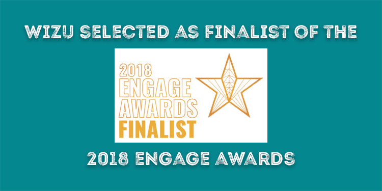Wizu selected as a finalist of the 2018 Engage Awards