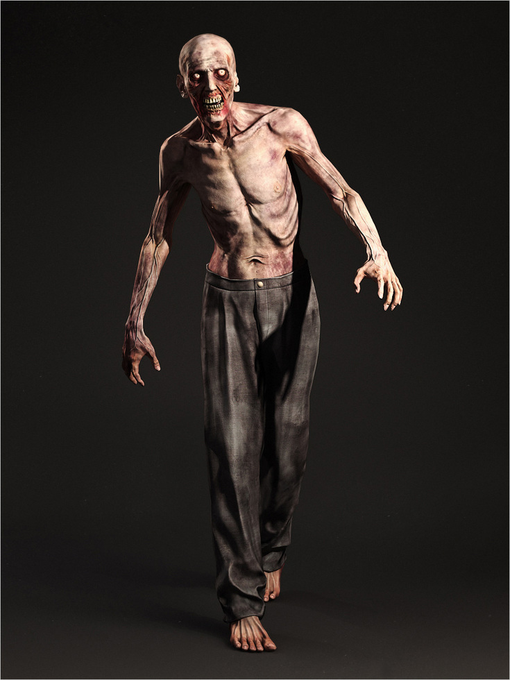 Walking Zombie 3d
