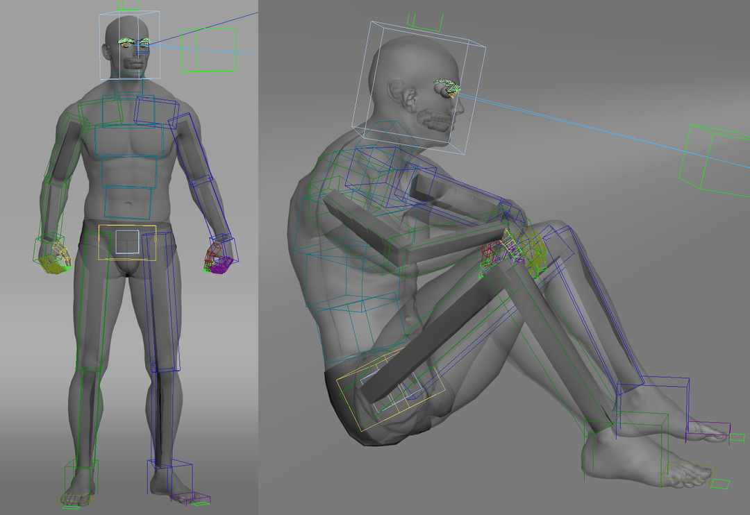 3ds Max character biped