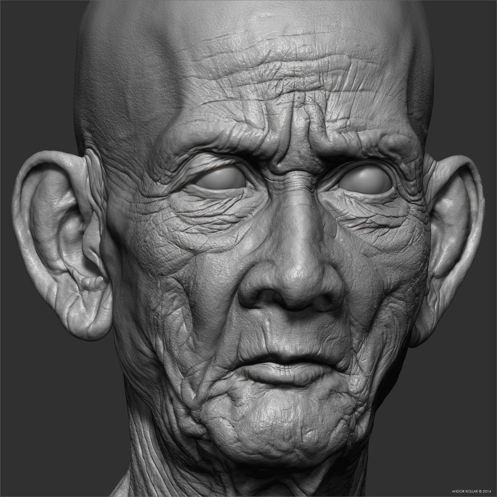 Andor-Kollar_Cambodian-Head_9
