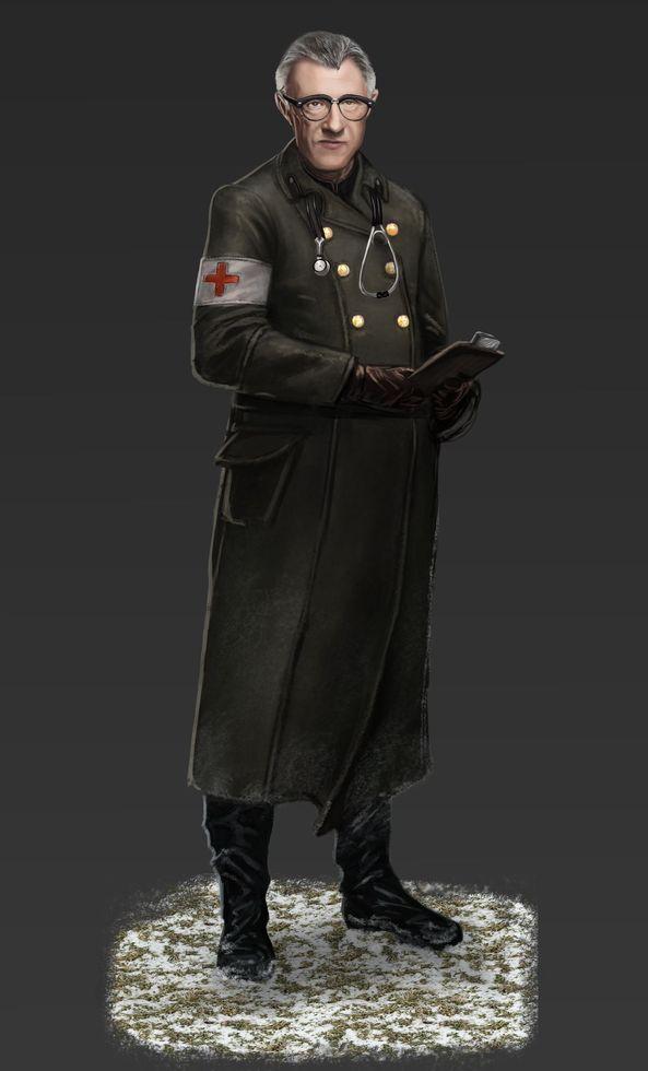 Doctor Petrovich concept art