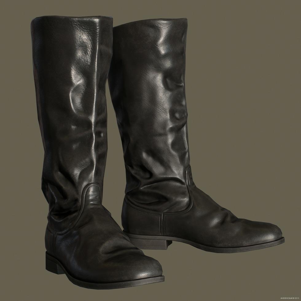 Soviet military Boots ww2