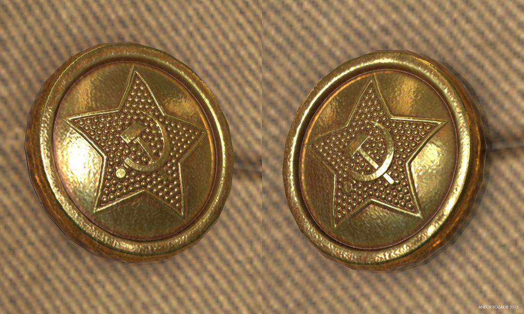 Soviet Golden Button