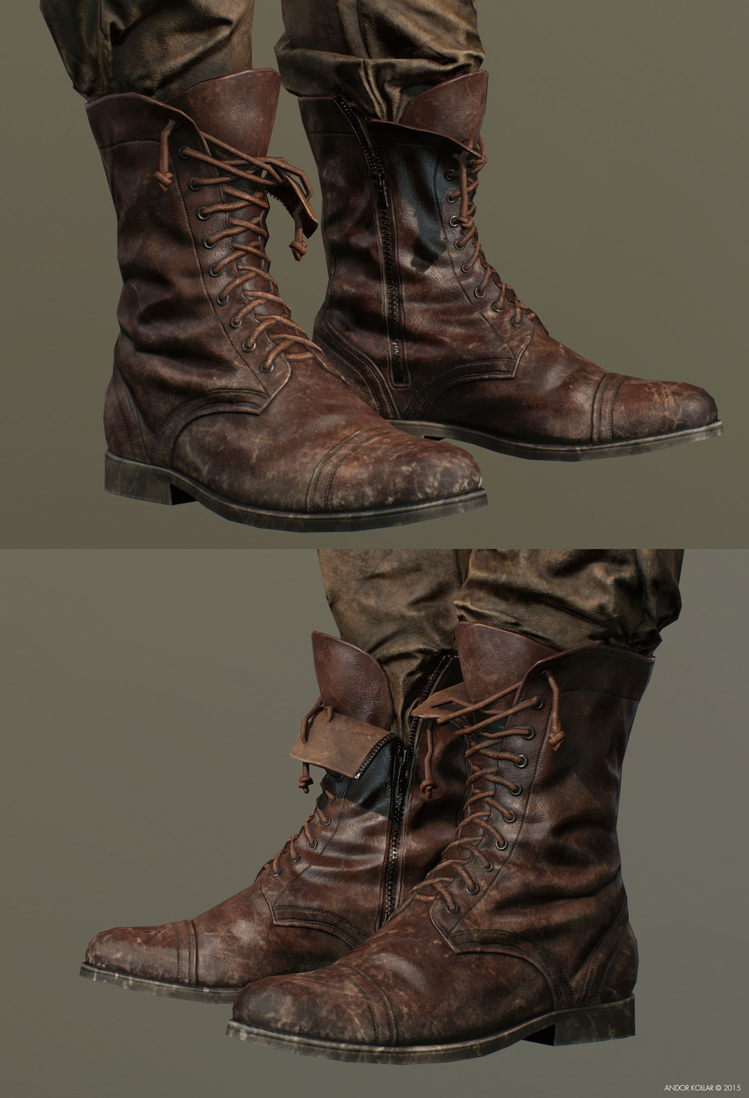 soldier boot