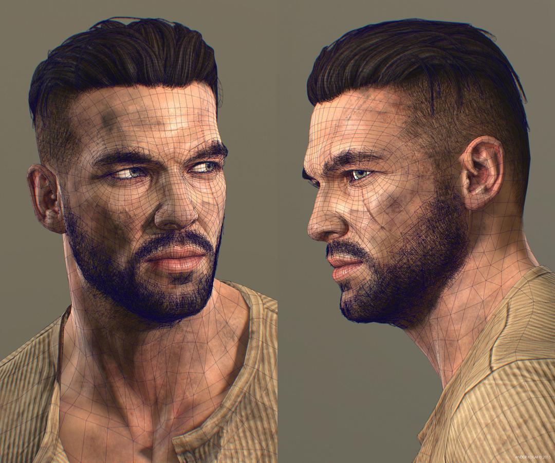 soldier beard stubble hair wiferame