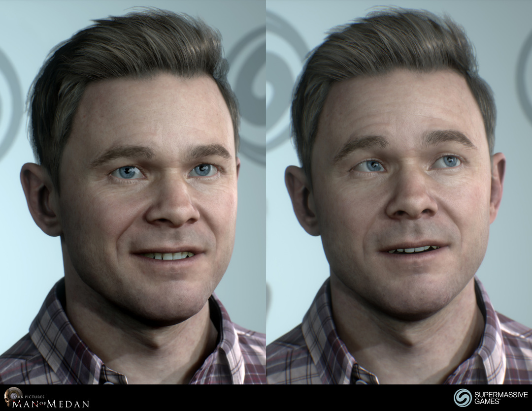 Conrad in The Dark Pictures - Man of Medan game in Unreal Engine.