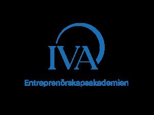 IVA entreprenörskapsakademin logga blå