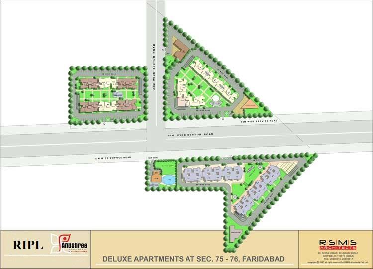 Anushree site plan