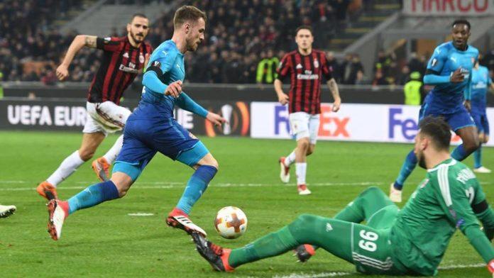 Arsenal beat AC Milan