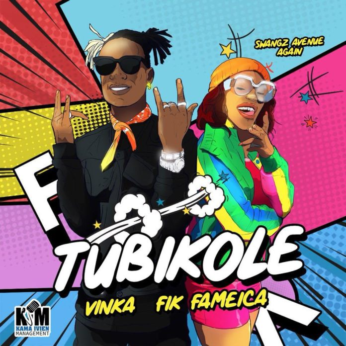 Vinka, Fik Fameika in a new song 'Tubikole'