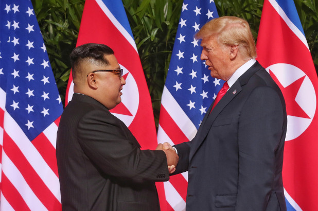 President Donald Trump ended the nuclear war