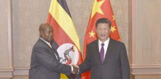 President Museveni meets president Xi Jinping to discuss infrastructure development in Uganda